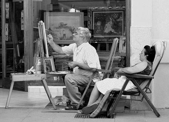 Er malte immer nur für sie!