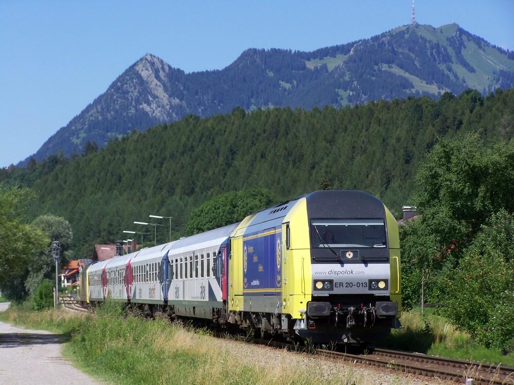 ER20 013 im Allgäu