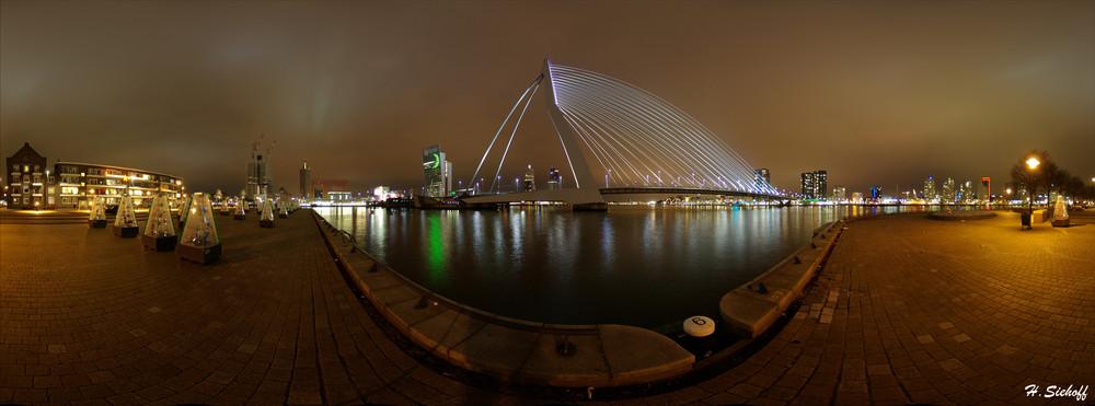 Erasmus Brücke in Rotterdam