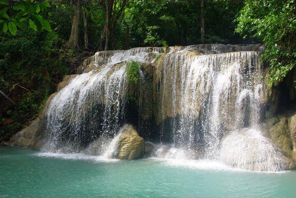 Erawann waterfalls