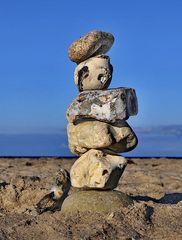 erbaut aus stein
