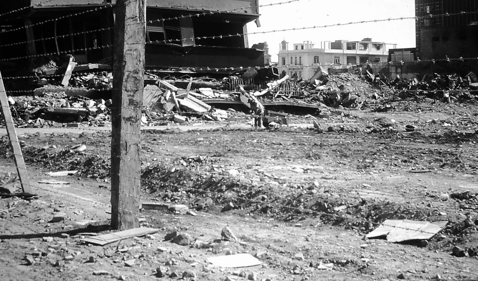 Erdbeben in Managua 23.12.1972