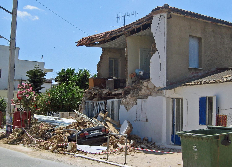 Erdbeben Peloponnes 2008