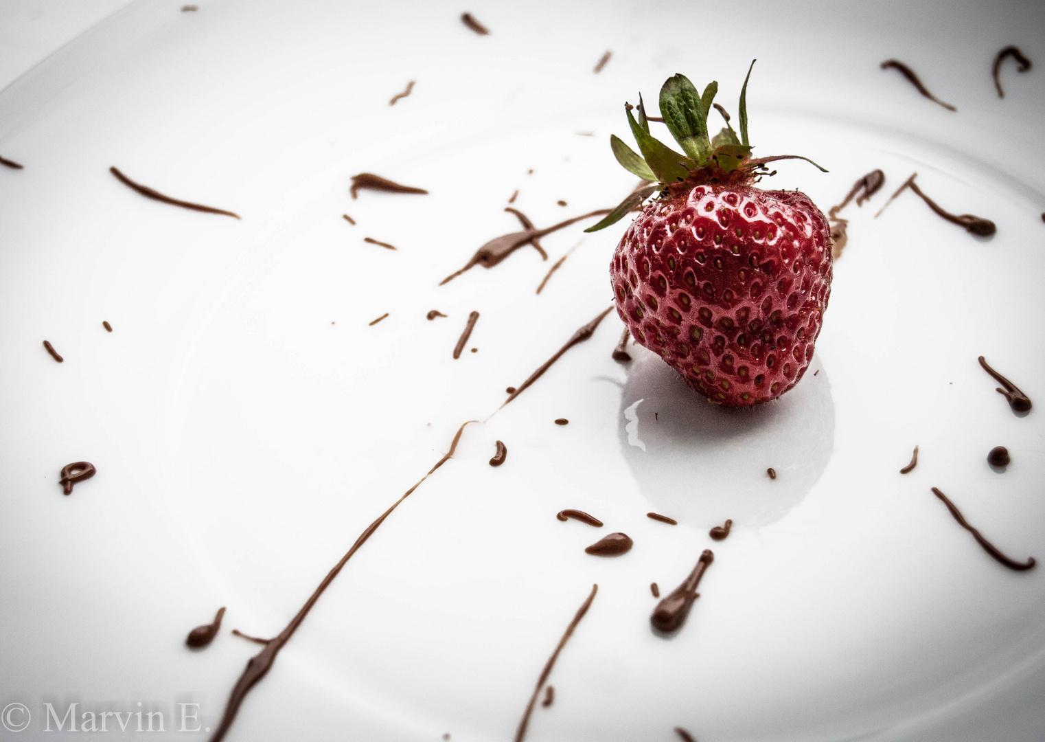 Erdbeere- Schokolade