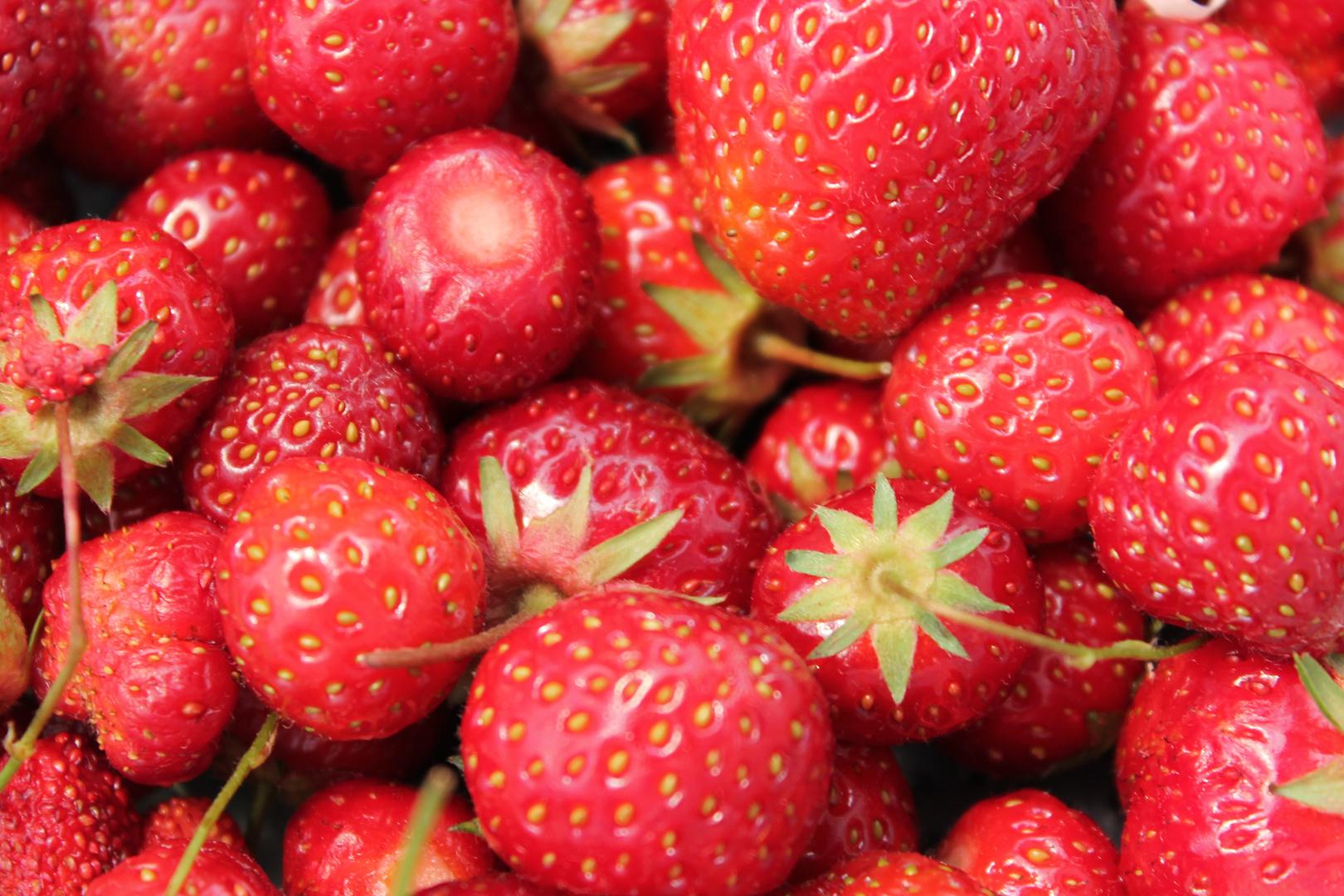 Erdbeeren...
