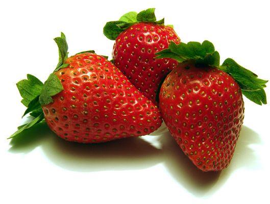 Erdbeeren im Winter; ob die schmecken??