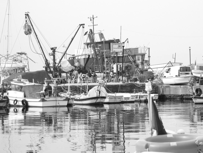 Erdek Hafen Turkei