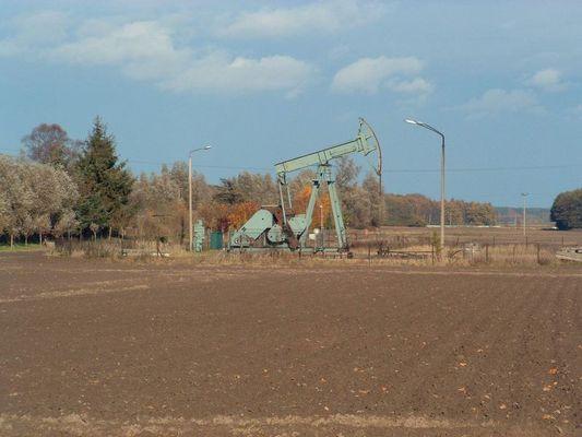 Erdöl auf Usedom