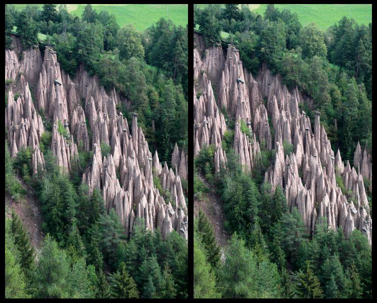 Erdpyramiden in 3D
