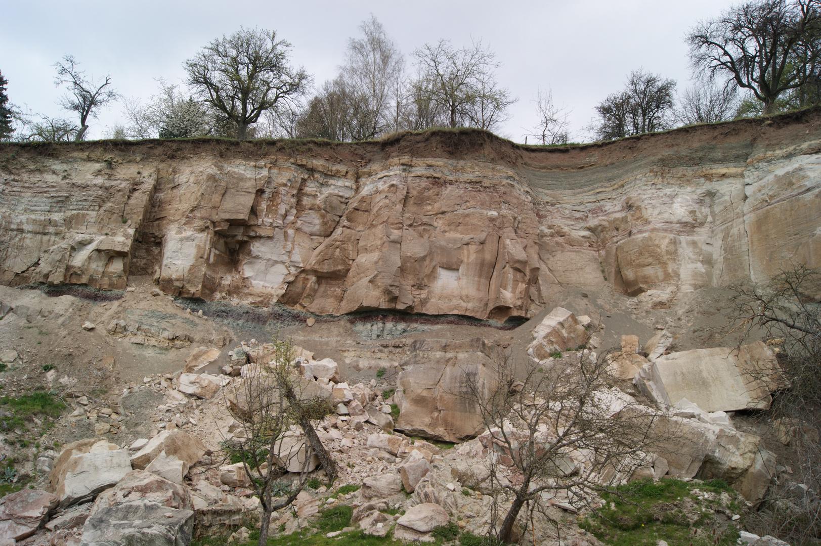 Erdrutsch in Urbach