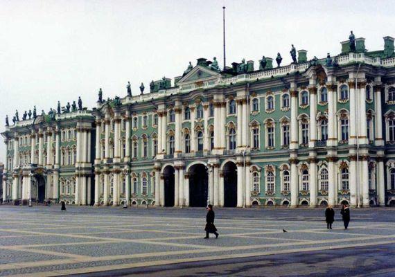 Eremitage (Winterpalast), Oktober 1993