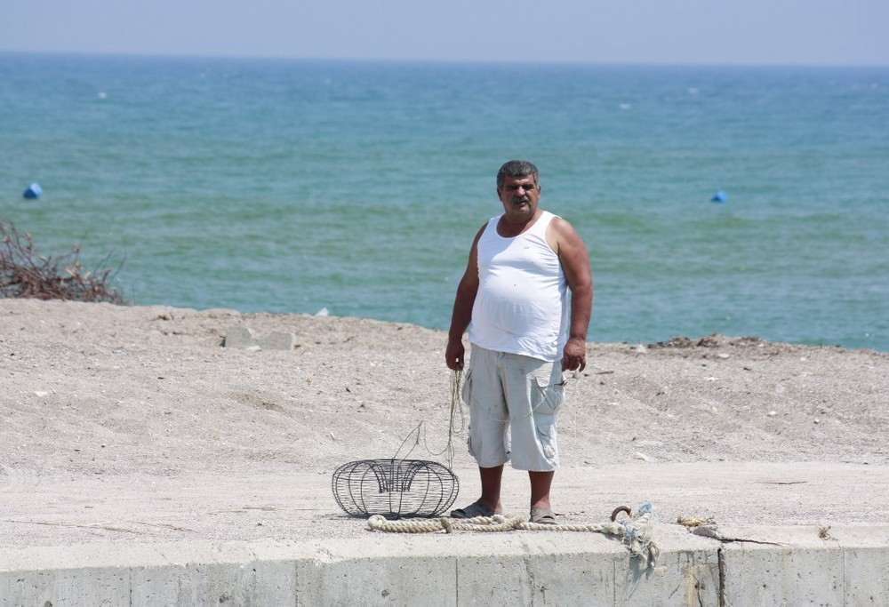 Erfolglos an Fischfänger