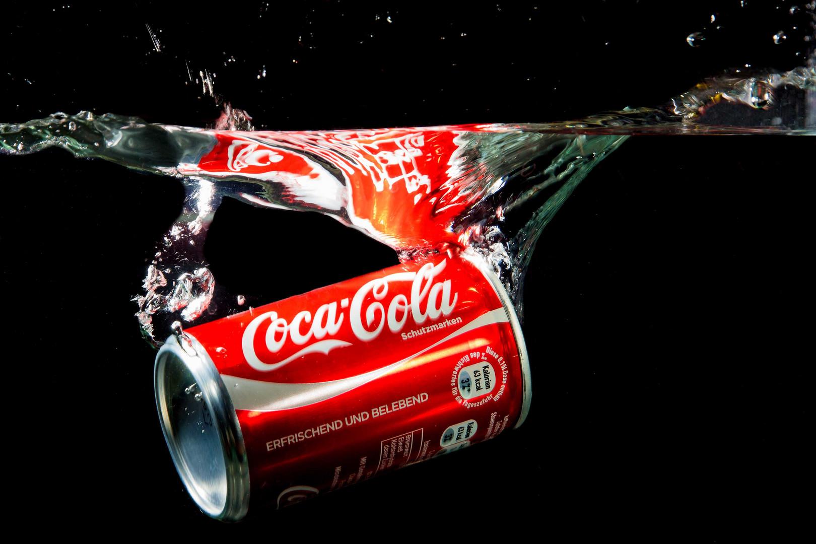 Erfrischende Cola