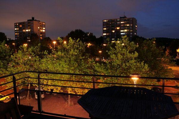 Erftstadt City at night