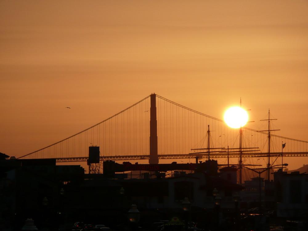 Erfüllung eines Traumes - Blick auf die Golden Gate Bridge