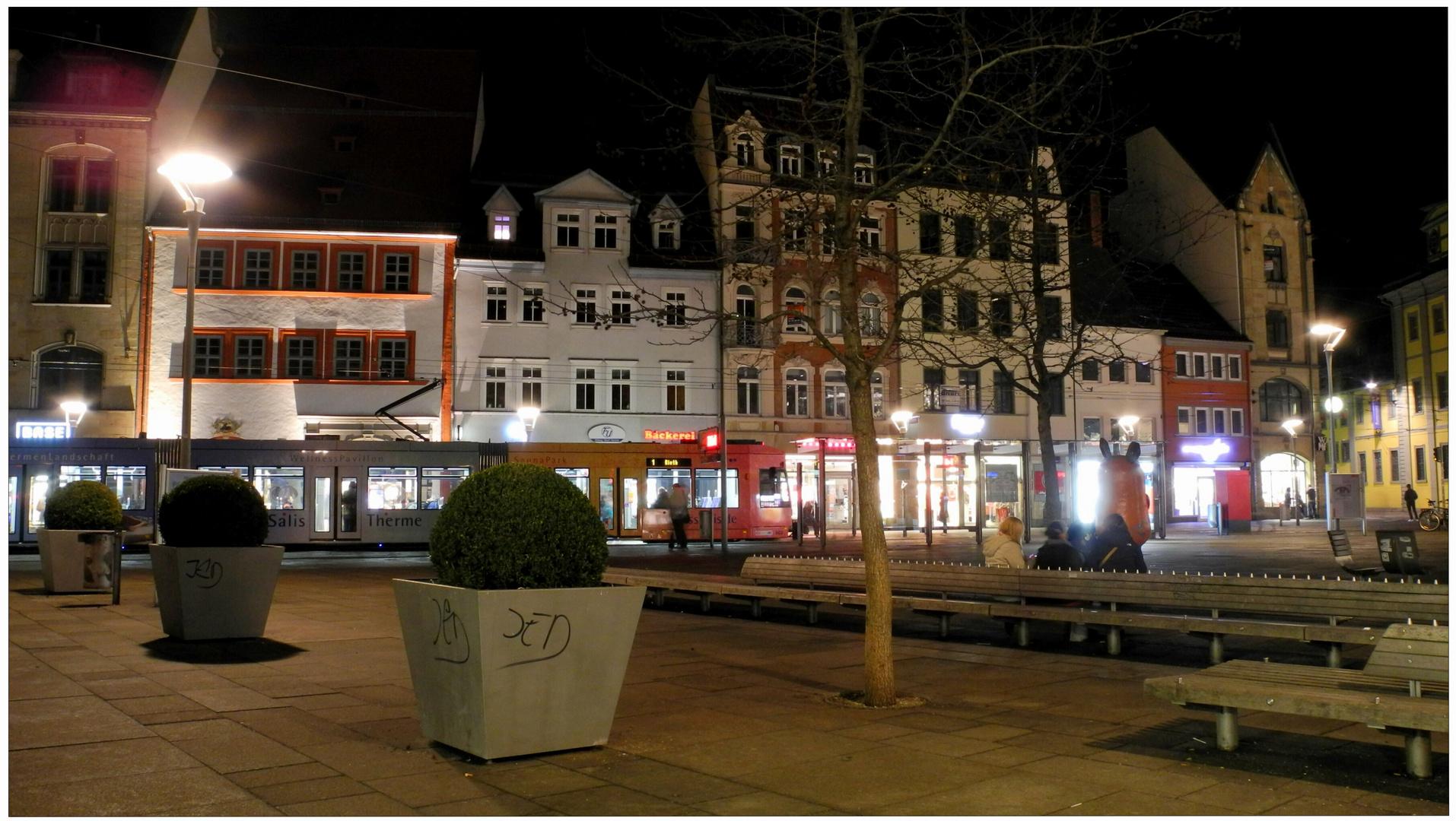 "Erfurt, Am Anger (Erfurt, plaza ""Anger"")"