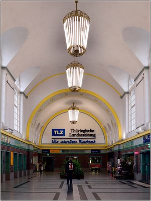 Erfurt,  Bahnhofshalle