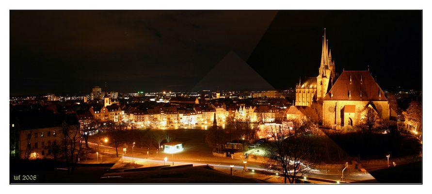 Erfurt bei Nacht 1