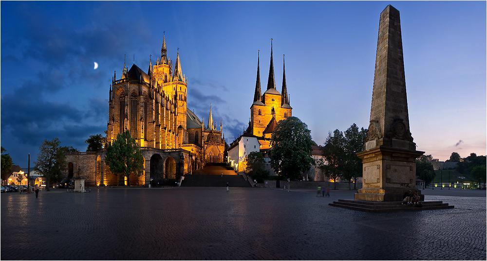 Erfurt Dom und Severikirche