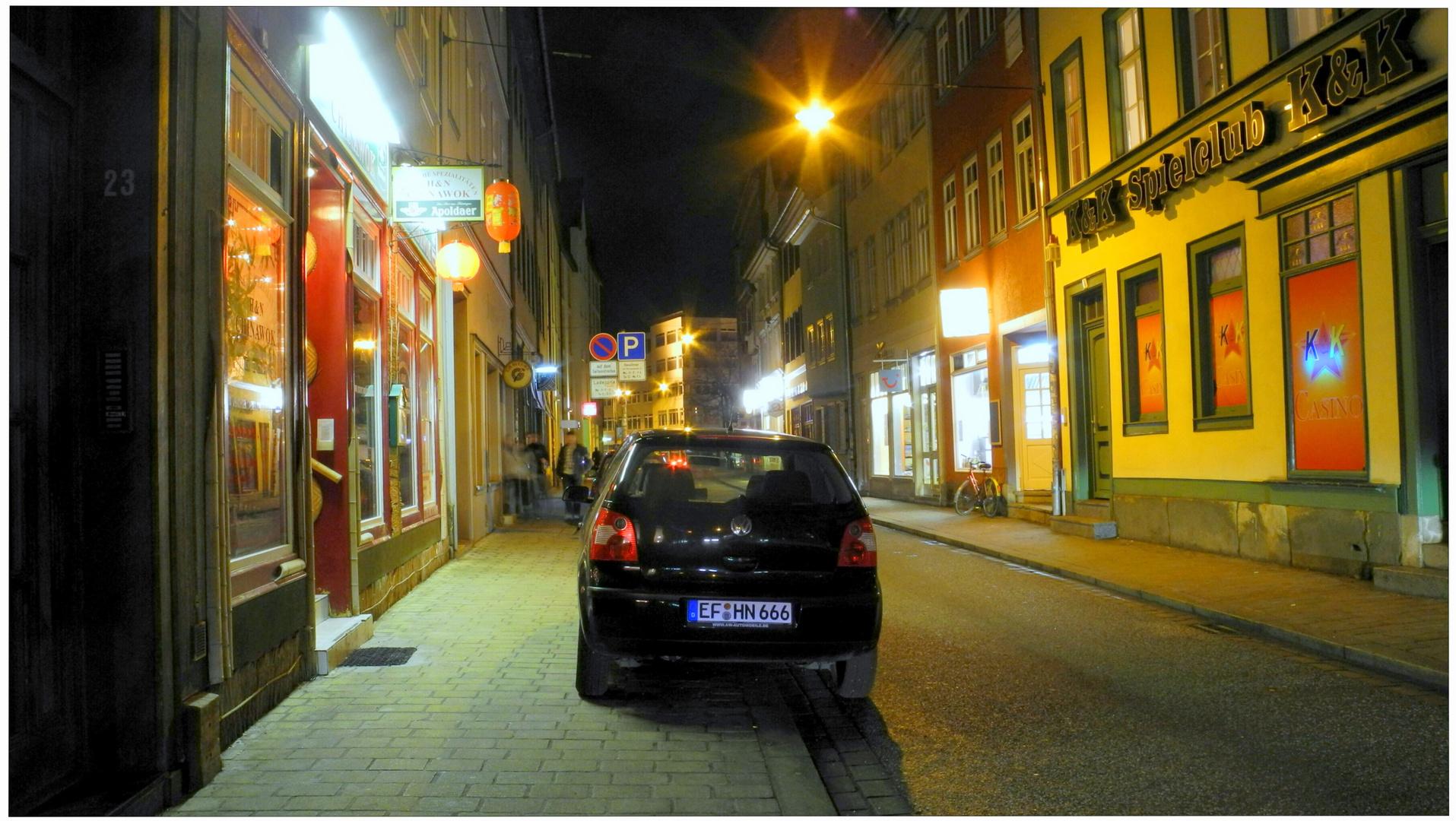 Erfurt, el restaurante chino donde cené anoche