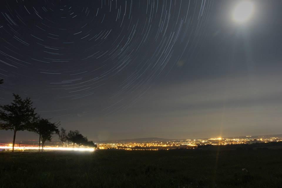 Erfurt im Mondschein