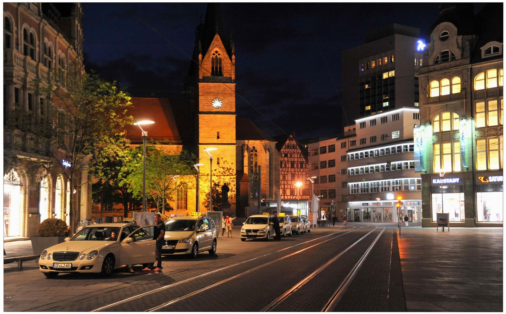 "Erfurt, La plaza ""Am Anger"""