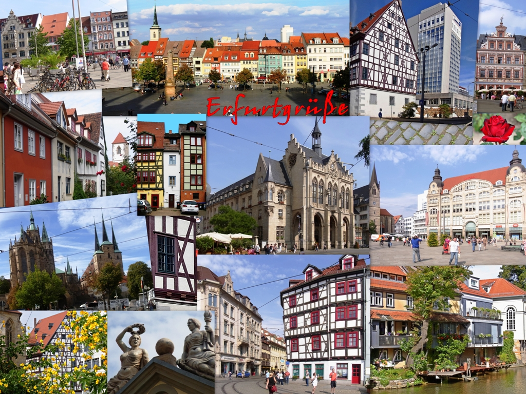 erfurt meine stadt foto bild deutschland europe. Black Bedroom Furniture Sets. Home Design Ideas