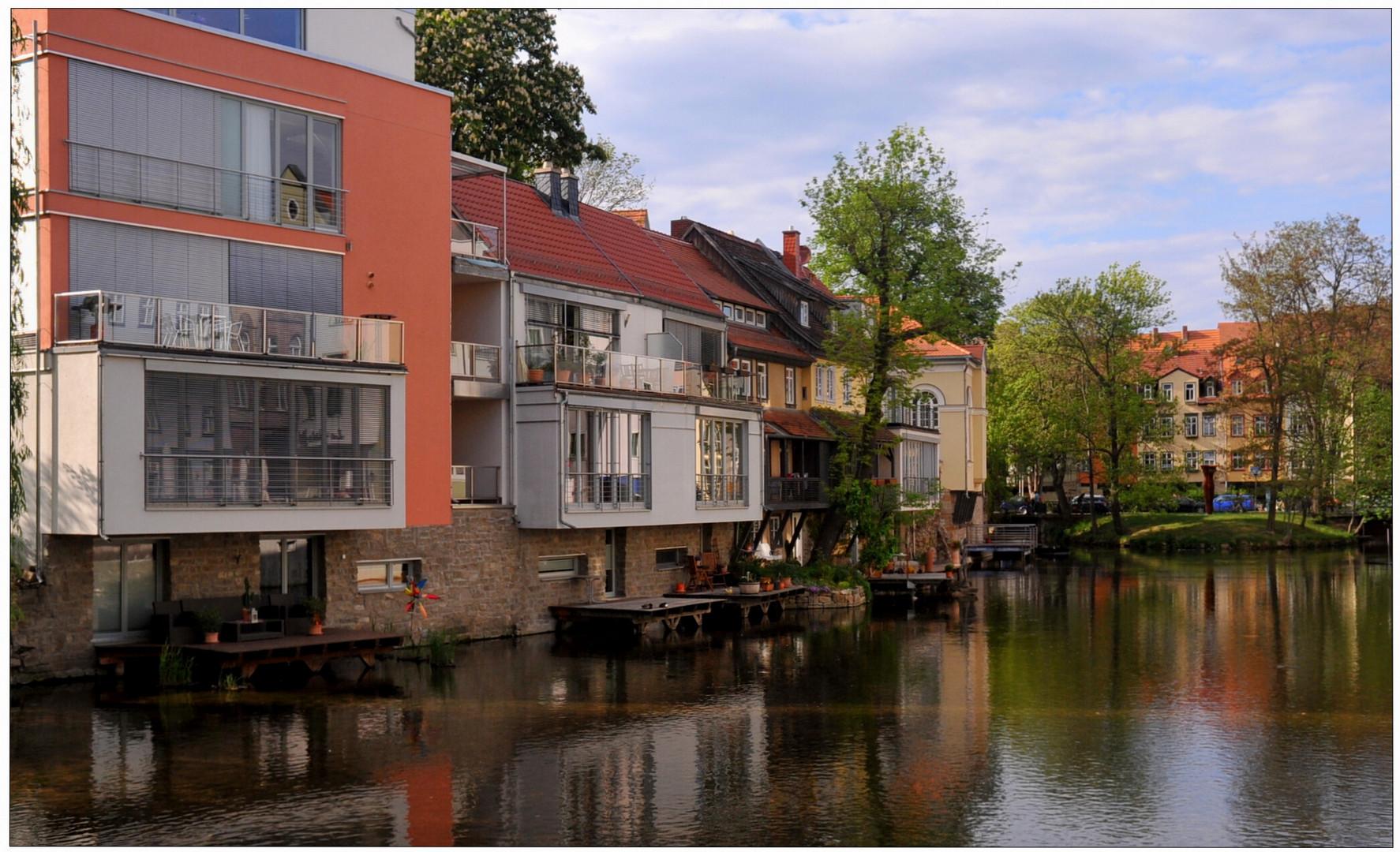 Erfurt, nuevas casas
