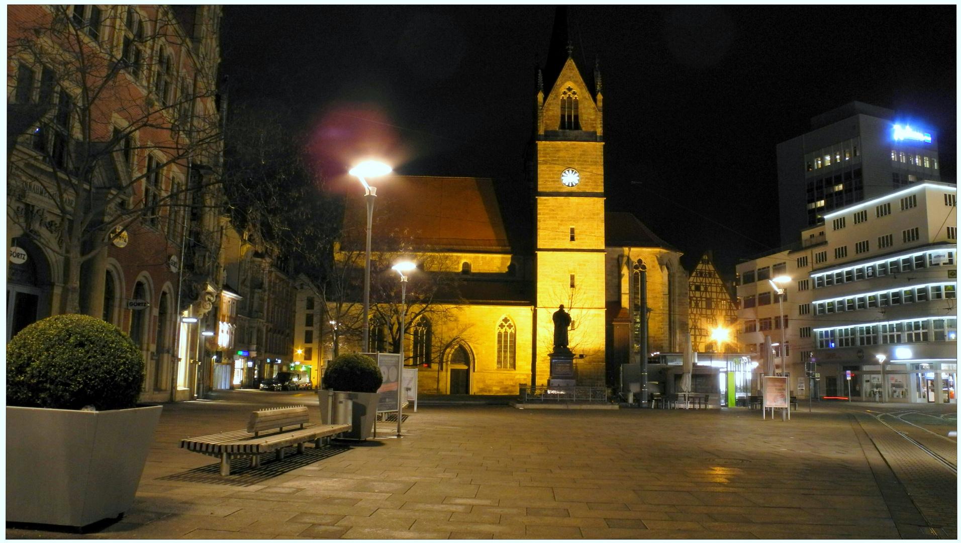 "Erfurt, plaza ""Anger"""