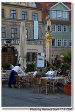 Erfurt, Plaza mayor (Fischmarkt)