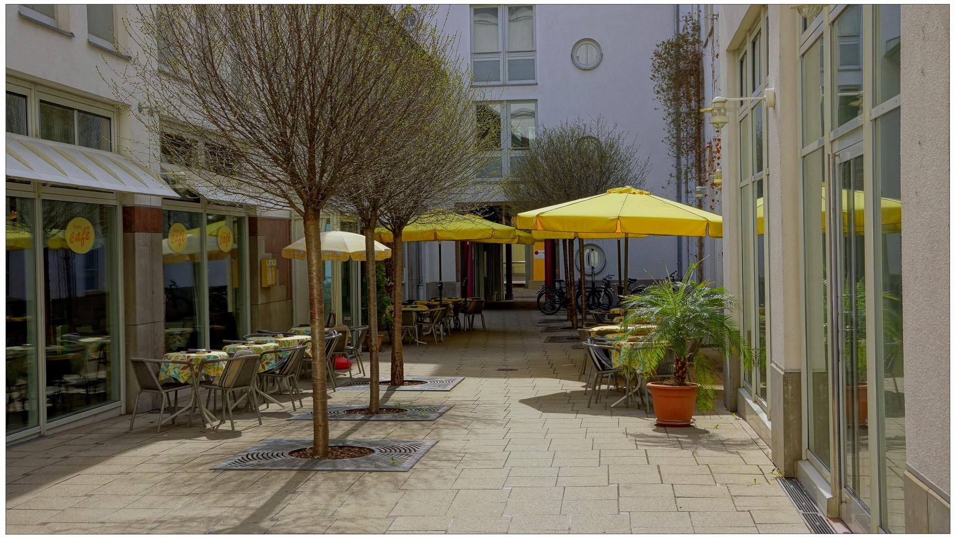 Erfurt, unser Lieblingscafé (nuestra cafetería preferida)