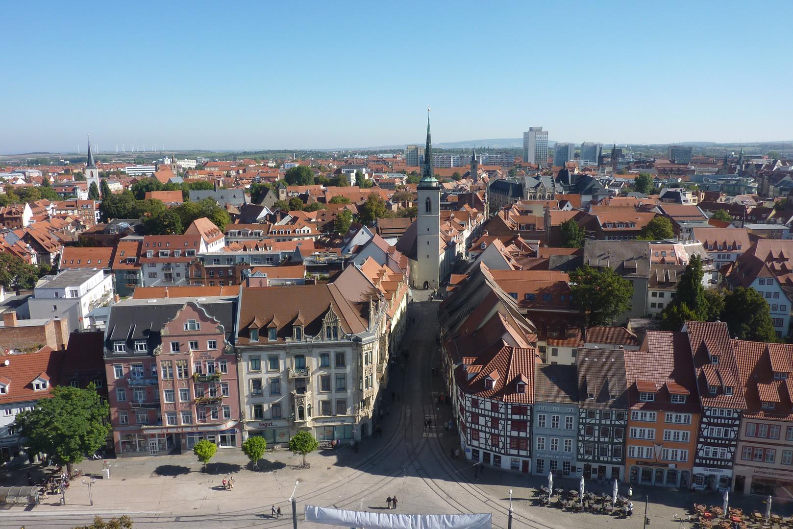 """Erfurt von """"Oben"""""""
