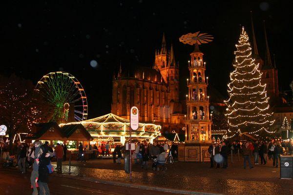 Erfurt Weihnachtsmarkt 2007