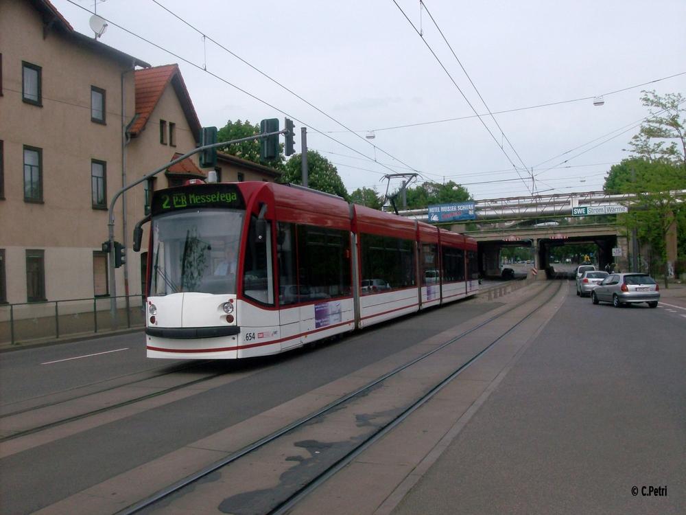 Erfurt:Combino Advancet 654