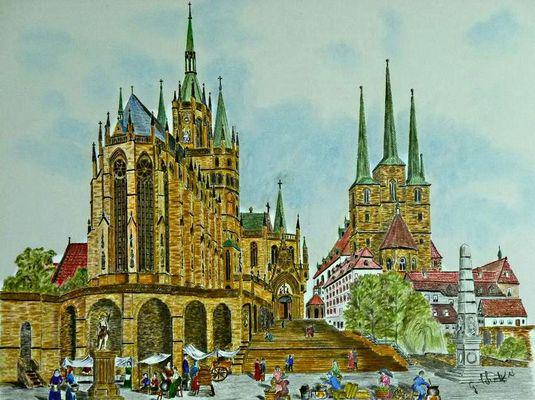 Erfurter Dom & Severiekirche