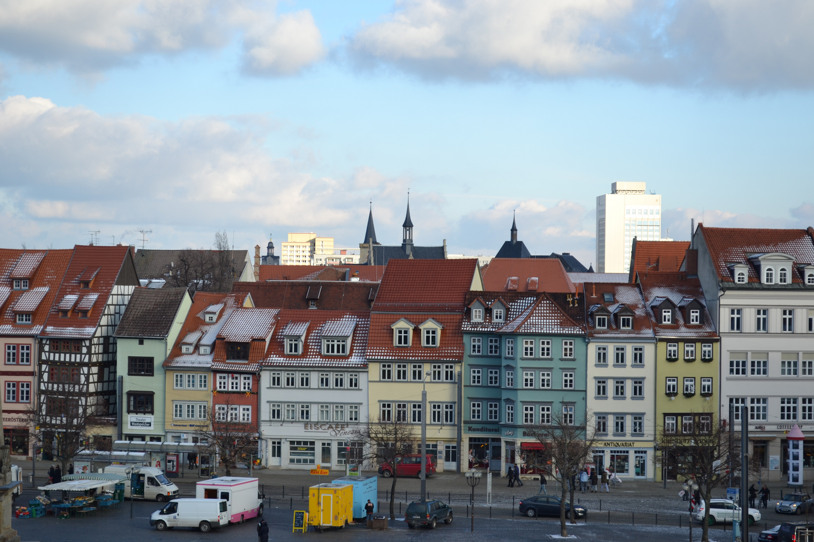 Erfurter Domplatz