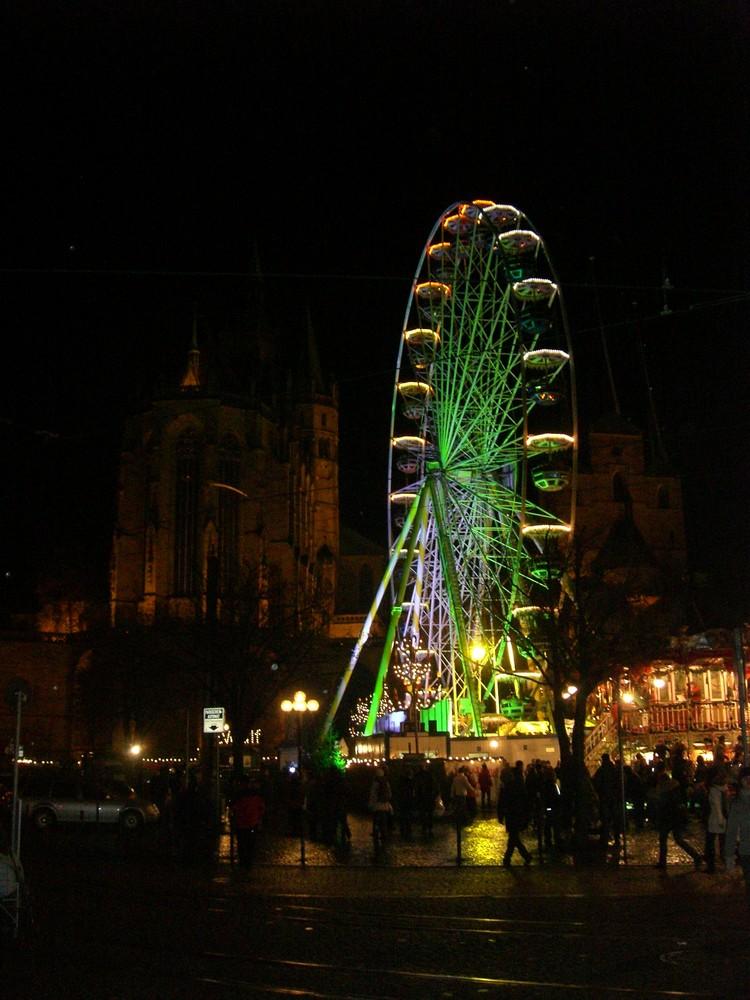 Erfurter Riesenrad und Dom / Weihnachtsmarkt