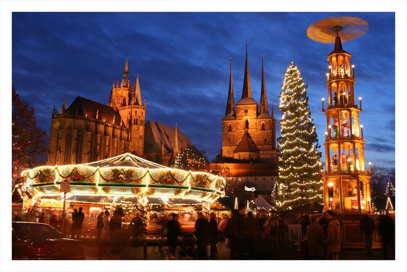 Erfurter Weihnachtsmarkt 2005