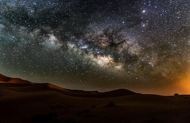 Erg Chebbi y su Via Láctea