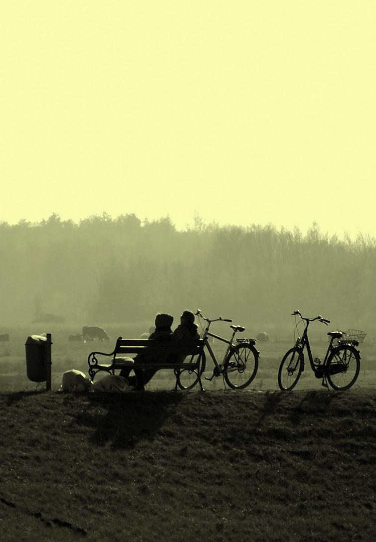 Erholung vom Radfahren