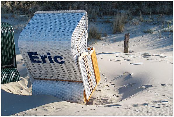 Eric, der Strandkorb