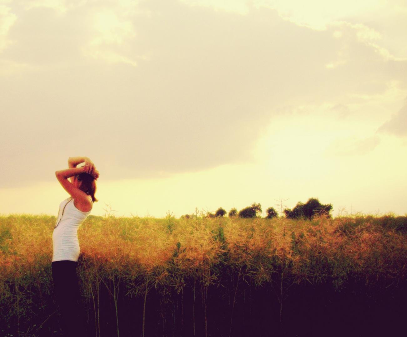 Erinner mich lieber an die unkomplizierten, kleinen Momente, in dennen garnichts los ist.