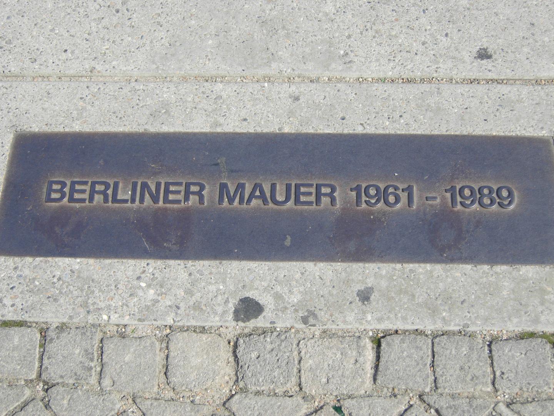 Erinnerung an die Mauer in Berlin