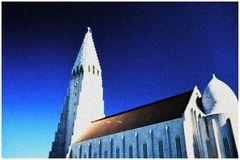 Erinnerung an Iceland 2006 ( Hallgrimskiiche in Reykjavik )