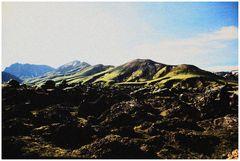 Erinnerung an Iceland 2006 ( Landmannalaugar )