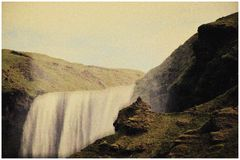 Erinnerung an Iceland 2006  ( Skogafoss )