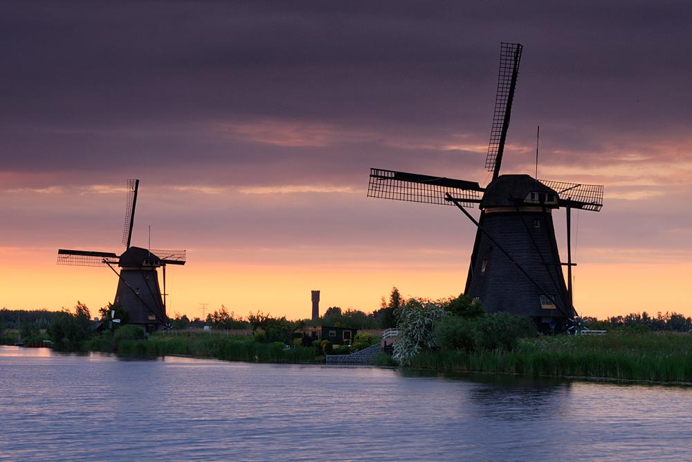 Erinnerung an Kinderdijk...