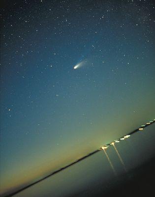 """Erinnerung an Komet Hale-Bopp 1997 etwas """"schräg"""""""