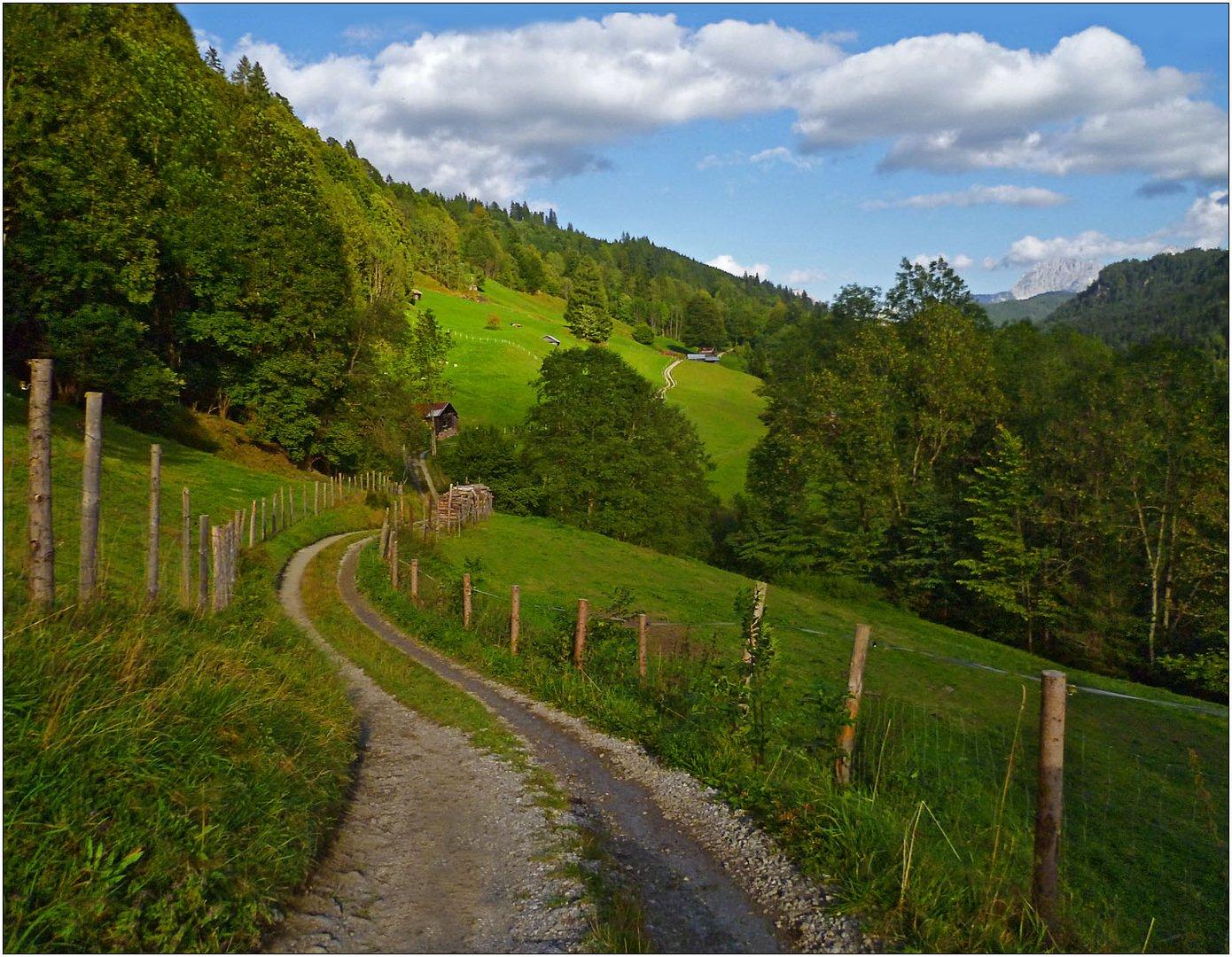 Erinnerung an meinen September-Urlaub in Bayern ...