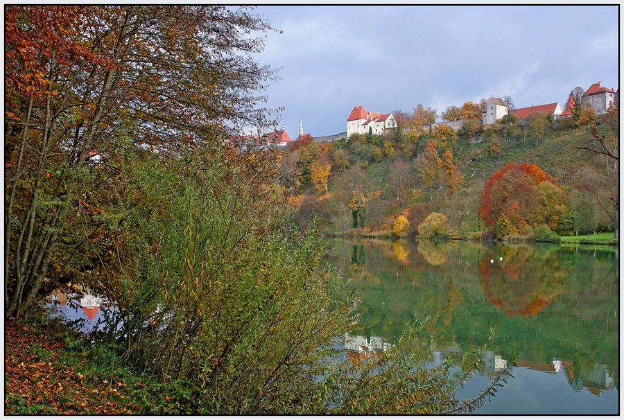 Erinnerung an schöne Herbsttage - am Wöhrsee
